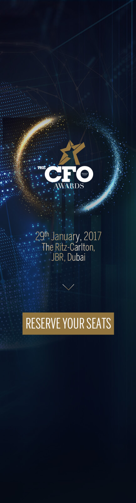The CFO ME Awards | Reserve your seats