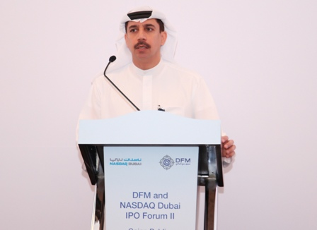 """Essa Kazim, Chairman, Dubai Financial Market: """"The favourable market environment is likely to see IPO backlog of recent years flooding on to the market."""""""